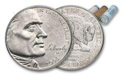 2005-P Bison Nickel Roll Uncirculated