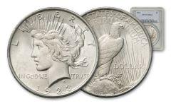 1923-P Peace Dollar NGC/PCGS MS64