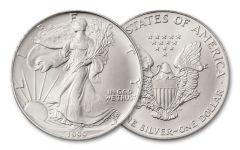1999 1 Dollar 1-oz Silver Eagle BU