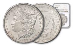 1892-S Morgan Silver Dollar NGC AU55