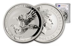 2014 Australia 1-oz Wedge Tailed Silver Eagle PCGS MS70