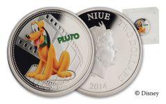2014 Niue 1-oz Silver Disney Pluto Proof