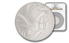 2015 France 100 Euro Silver Rooster First Struck MS70