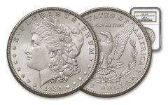 1885-O Morgan Silver Dollar NGC MS63 – Great Montana Collection