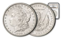 1900-O Morgan Silver Dollar NGC MS64 – Great Montana Collection