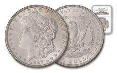 1887-P Morgan Silver Dollar NGC MS65 VAM-12 – Great Montana Collection