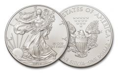 2016 1 Dollar 1-oz Silver Eagle BU