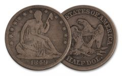 1840-1861-O 50 Cent Seated Liberty