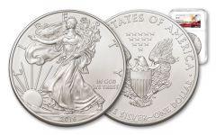 2016 $1 1-oz Silver American Eagle NGC MS70