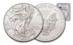 2016 1 Dollar 1-oz Silver Eagle PCGS MS70