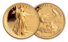 1986 50 Dollar 1-oz Gold Eagle Proof