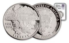 2016-S Half Dollar National Park NGC PF70UCAM FDI Jones Signed