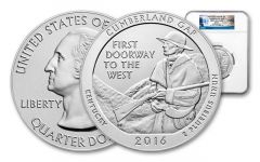 2016 5-oz Silver Cumberland Gap NGC SP69 First Release