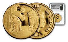 2016 Niue 250 Dollar 1-oz Gold Star Wars Classic Leia NGC Gem Proof First Releases