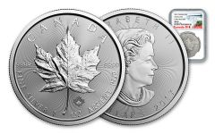 2017 Canada 5 Dollar 1-oz Silver Maple Leaf NGC MS69 Early Release