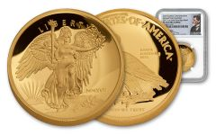 2017 1-oz Gold Winged Liberty Ultra High Relief NGC PF70UCAM