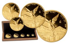 2016 Mexico Gold Libertad 5-Piece Proof Set