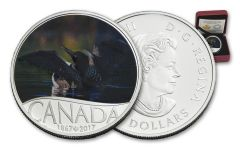 2017 Canada Silver Common Loon 150th Proof