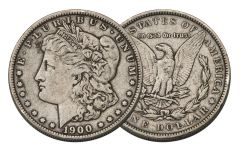 1900-P Morgan Silver Dollar VF