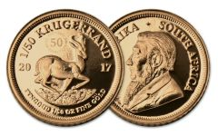 2017 South Africa 1/50-oz Gold Krugerrand Proof