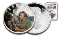 2016 Canada 20 Dollar 1-oz Silver Star Trek Trouble with Tribble NGC PF70UC- Early Release