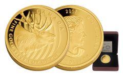 2017 Canada 200 Dollar 1-oz Gold Elk Proof