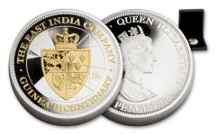 2016 St Helena 5-oz Silver Bicentenary Guinea Proof