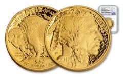 2017-W 50 Dollar 1-oz Gold Buffalo Proof NGC PF69UCAM Early Release