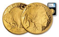 2017-W 50 Dollar 1-oz Gold Buffalo Proof NGC PF69UCAM FDI - Black