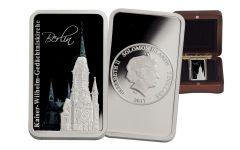 2017 Soloman Islands 2 Dollar 1-oz Silver Berlin Hologram Memorial Proof