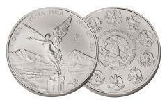 2017 Mexico 1-oz Silver Libertad BU