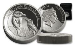2017 Australia 8 Dollar 5-oz Silver Kookaburra HR Proof