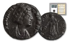 Ancient Roman Bronze St Helena NGC VF