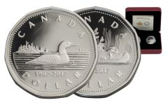 2017 Canada Silver 30th Anniversary of the Loonie Proof Set