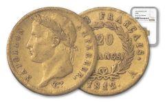 1812-A France 20 Franc Napoleon I NGC XF40 Rive D'