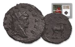 253-268 AD Roman Bronze South Petherton Hoard Gallienus NGC Choice-XF