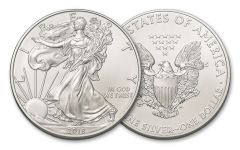 2018 1 Dollar 1-oz Silver Eagle Brilliant Uncirculated