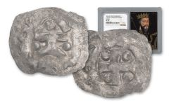 1035-1087 Normandy Silver Rouen Denier Of William NGC VF30