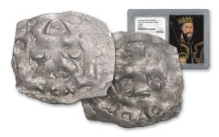 1035-1087 Normandy Silver Rouen Denier Of William NGC XF40