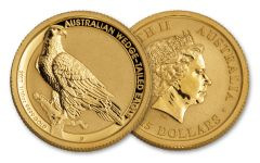 2017 Australia 15 Dollar 1/10-oz Gold Wedge Tailed Eagle Uncirculated