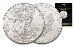 2018 1 Dollar 1-oz Silver Eagle BU Graduation