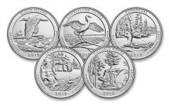 2018-S America The Beautiful Quarters Proof Set