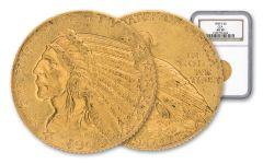 1909-D 5 Dollar Gold Indian NGC AU58 GSA