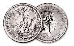 2018 Great Britain 10 Pound 1/10-oz Platinum Britannia BU
