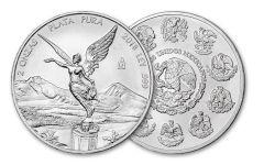 2018 Mexico 2-oz Silver Libertad Gem BU