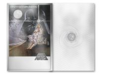 2018 Niue 2 Dollar 35 Gram Silver Foil Star Wars Posters A New Hope Colorized Proof-Like Note