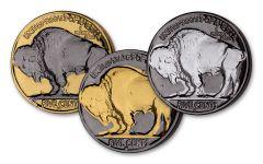 1930s ERA 5 Cent Buffalo Nickel Plated Set