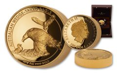 2018 Australia $500 5-oz Gold Wedge-Tailed Eagle High Relief Proof
