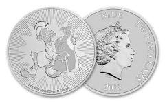2018 Niue 2 Dollar 1-oz Silver Scrooge McDuck BU