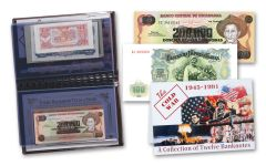 Cold War 12 Piece Bank Note Collection VF-XF